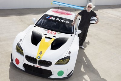 19th BMW Art Car by renowned American contemporary artist John Baldessari. The newest BMW Art Car made its world premiere at Art Basel in Miami Beach on Wednesday, November 30, 2016 (C) Photo by Chris Tedesco for BMW (PRNewsFoto/BMW Group)