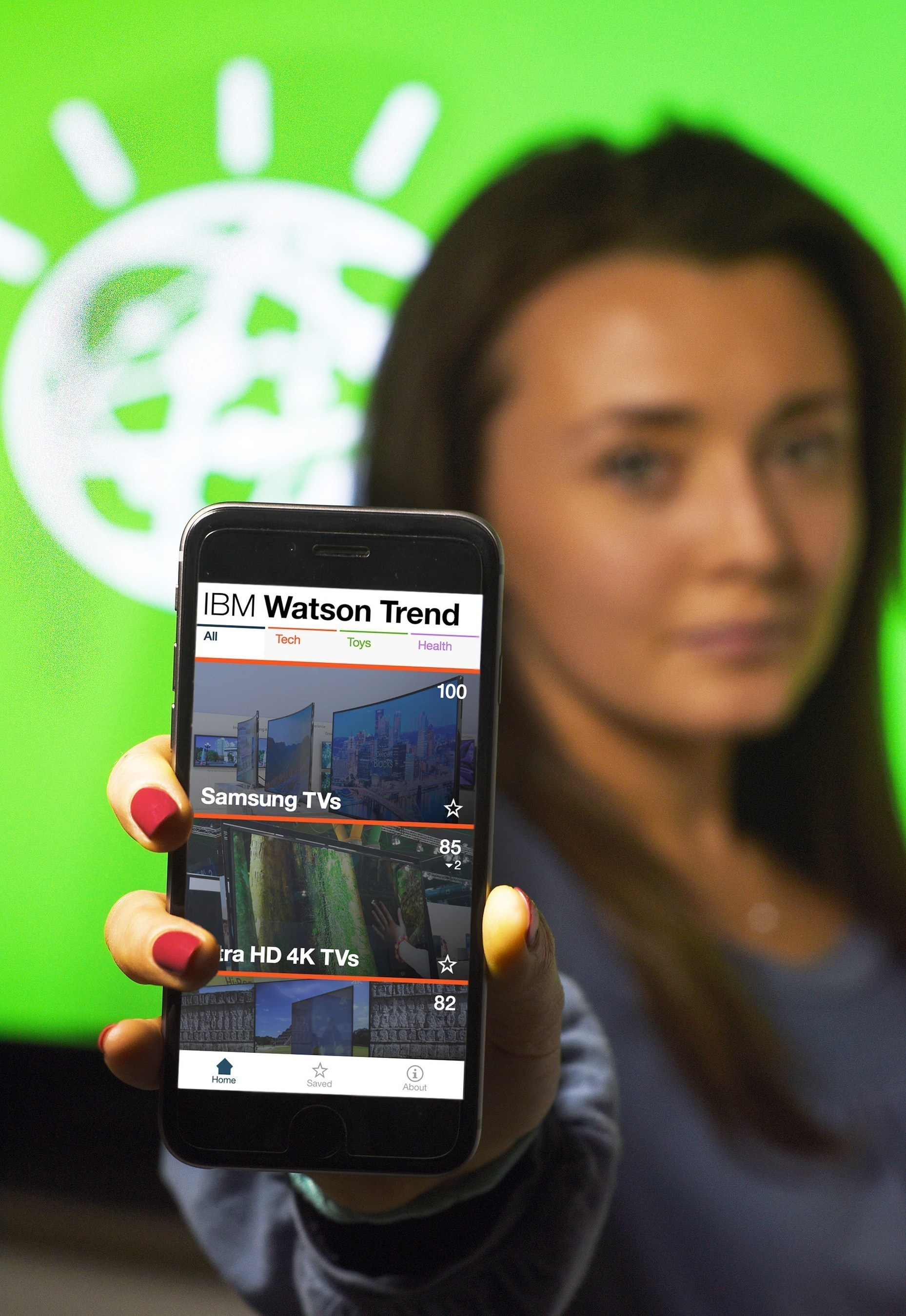 IBM  launched the IBM Watson Trend App, a new way for shoppers to understand the reasons behind the top trends of the holiday season and also predict the hottest products before they sell out.