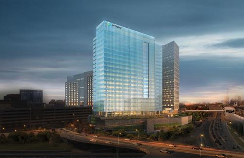 Macerich's Tysons Tower signs Intelsat as anchor office tenant.  (PRNewsFoto/Macerich)