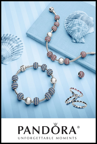 Make a Statement with Standout Stripes this Summer from PANDORA Jewelry.  (PRNewsFoto/PANDORA Jewelry)