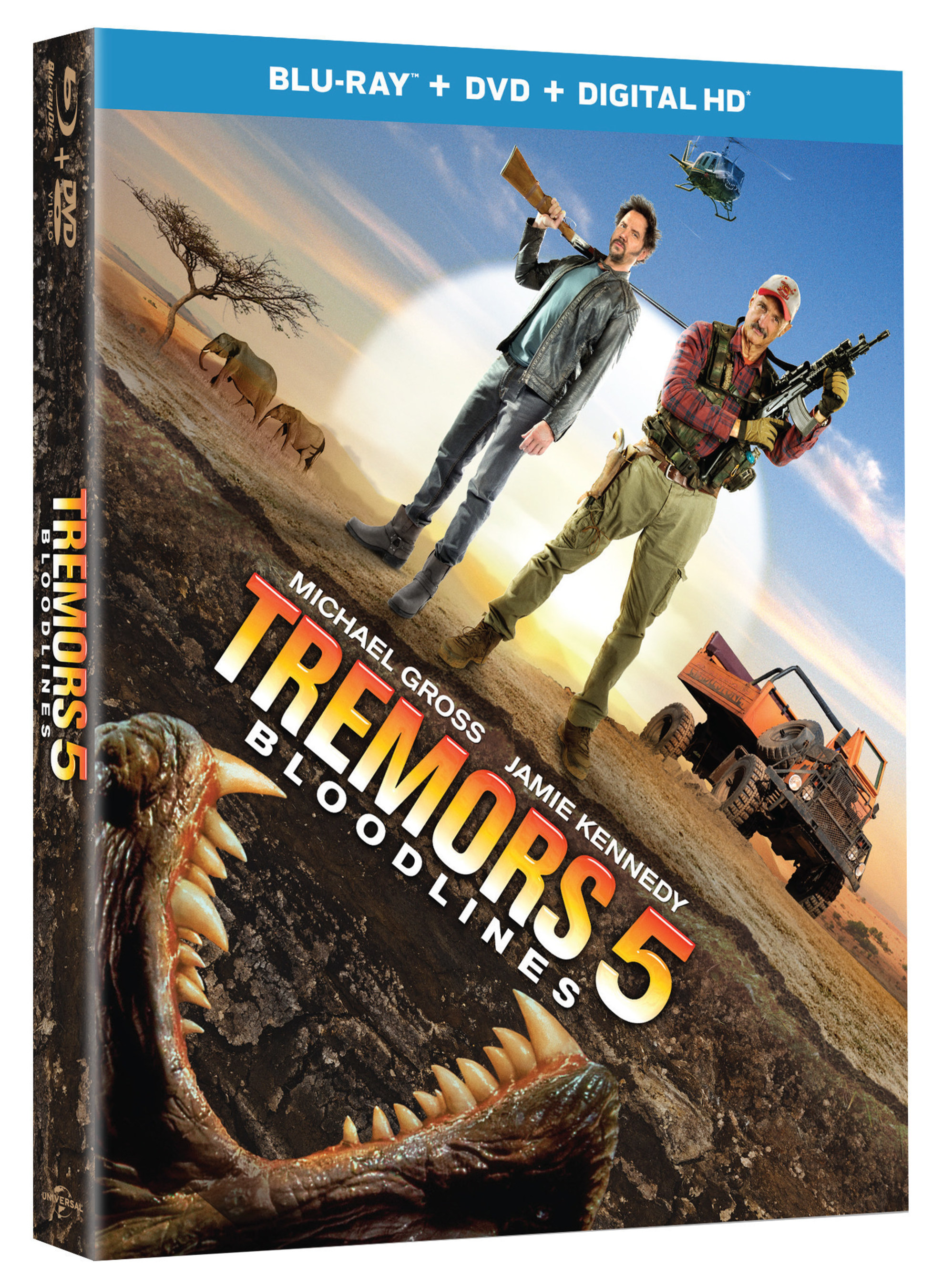 From Universal Pictures Home Entertainment Tremors 5 Bloodlines