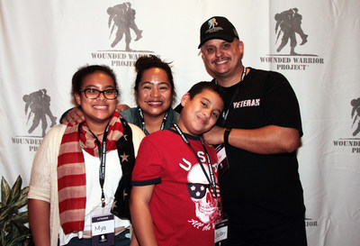 On Veterans Day, November 11, over 200 veterans, caregivers, family members, and supporters enjoyed an evening of fun with Wounded Warrior Project