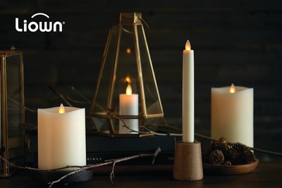 Liown's Moving Flame(TM) candles are made with highest-quality materials and offer superior aesthetic.