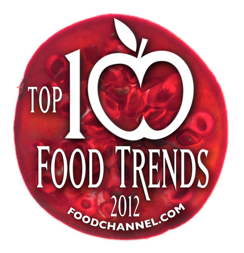 The Food Channel(R) (foodchannel.com) presents its 2012 Trends Forecast--the top ten food trends we see for the coming year.  (PRNewsFoto/foodchannel.com)