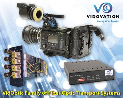 VidOvation VidOptic Fiber Optic Product Family. (PRNewsFoto/VidOvation) (PRNewsFoto/VIDOVATION)