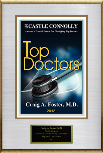 Dr. Craig A. Foster, M.D. is recognized among Castle Connolly's Top Doctors(R) for New York, NY region in 2013. (PRNewsFoto/American Registry)