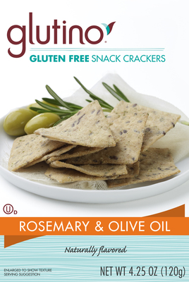 Glutino Voluntarily Recalls Glutino Rosemary and Olive Oil Snack Crackers (4.25 oz. and 10 oz.) Because of Possible Health Risk.