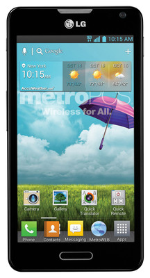 MetroPCS Brings Feature-Rich LG Optimus F6 and Nationwide 4G Experience to Consumers at Incredible Value.  (PRNewsFoto/MetroPCS)