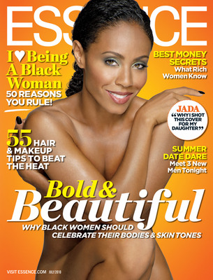 JADA PINKETT SMITH'S ESSENCE COVER.  (PRNewsFoto/ESSENCE magazine)