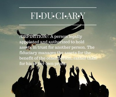 Fiduciary definition