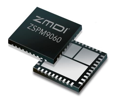 ZMDI Expands its Smart Power Management Product Portfolio with the ZSPM9060, a Next-Generation