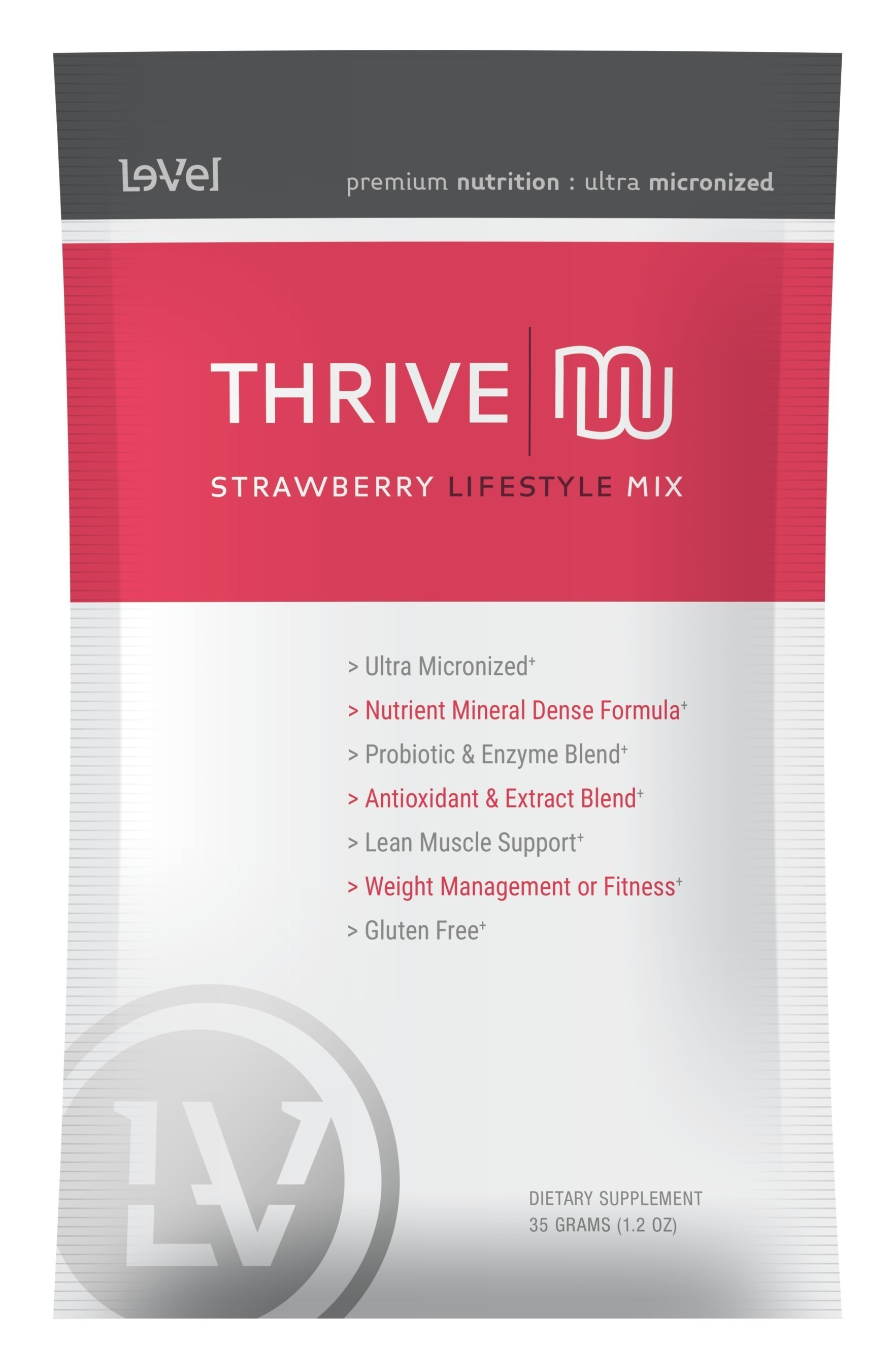 Le-Vel announced the addition of a new Thrive Premium Lifestyle Mix flavor: Creamy Strawberry.