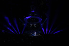 PRG worked with Lighting Designer Guy Pavelo to bring the Drake tour stage to life.  (PRNewsFoto/Production Resource Group)