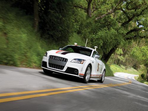 New Look, Reaffirmed Mission for Autonomous Audi TTS Pikes Peak