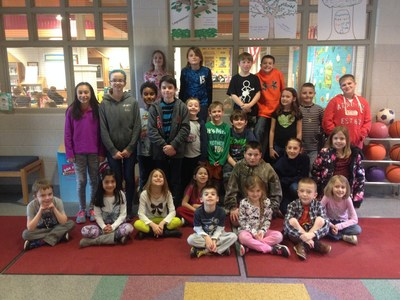 The students of Mazie Gable Elementary School in Red Lion, PA