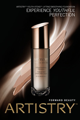 ARTISTRY Launches YOUTH XTEND Lifting Smoothing Foundation. (PRNewsFoto/Amway) (PRNewsFoto/AMWAY)