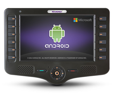 New Android-Based Rugged Tablet.  (PRNewsFoto/Micronet Ltd.)