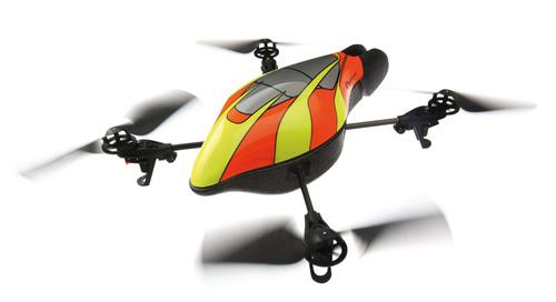 Parrot AR.Drone:  Invasion begins...