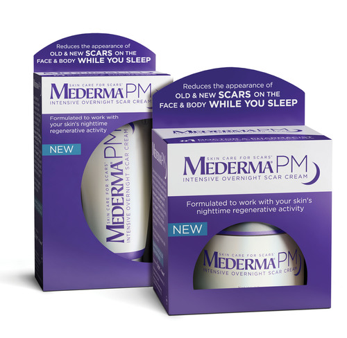 Mederma Introduces The First And Only Nighttime Scar Care Product