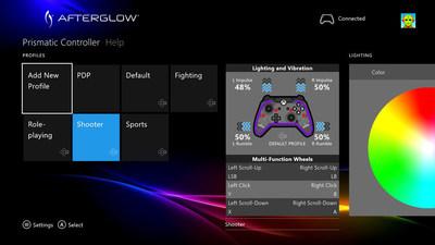 PDP's Free Afterglow Prismatic Controller Configuration App