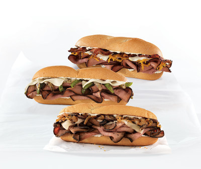 Arby's Angus Steak Sandwiches