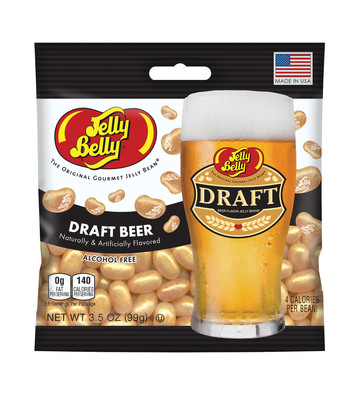 Draft Beer Jelly Belly jelly beans paired with pretzels bring out the sweet and salty flavor profiles. (PRNewsFoto/Jelly Belly Candy Company)