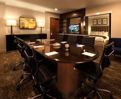New meeting room executive suites at DoubleTree Hotel Claremont