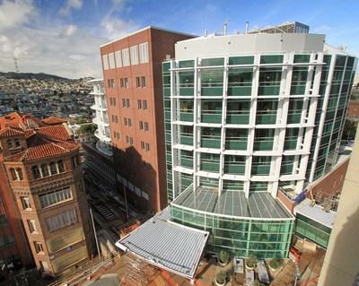 San Francisco General Hospital and Trauma Center. Photo courtesy of Perretti & Park