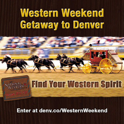 Facebook Contest: Find your Western spirit in Denver during the National Western Stock Show.  (PRNewsFoto/VISIT DENVER, The Convention & Visitors Bureau)