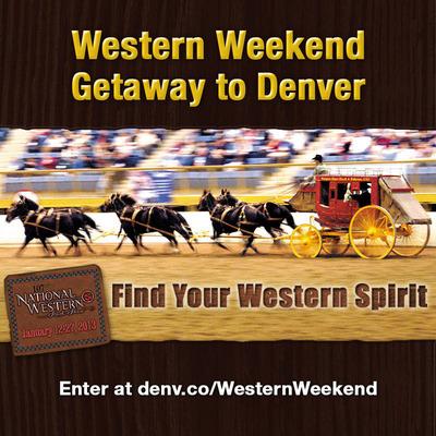 Facebook Contest: Find your Western spirit in Denver during the National Western Stock Show.  (PRNewsFoto/VISIT DENVER, The Convention & Visitors Bureau)