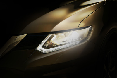 The all-new 2014 Nissan Rogue will push the envelope of CUV design starting on September 10th.  (PRNewsFoto/Nissan North America)