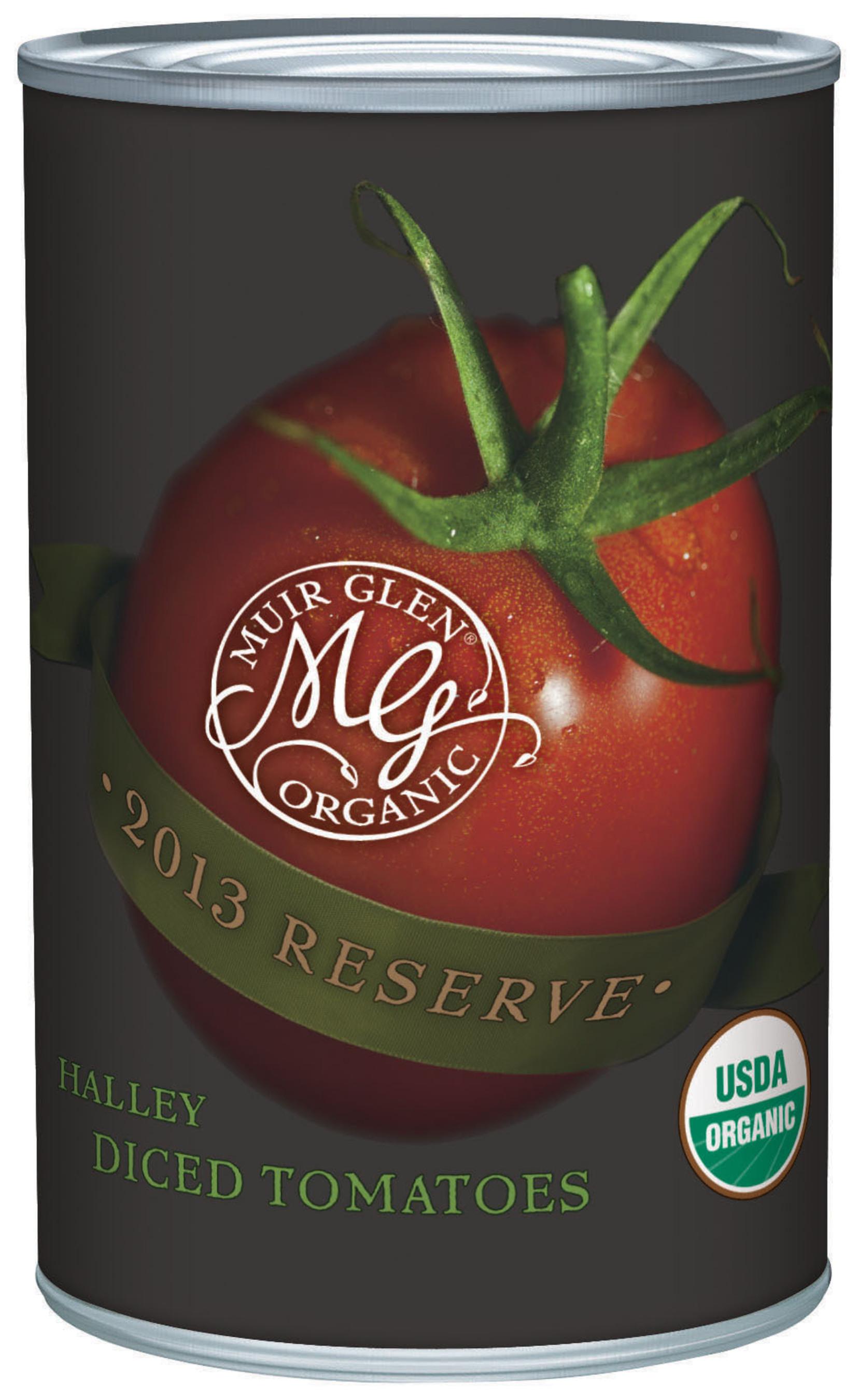 Muir Glen(R) 2013 Reserve Tomatoes. (PRNewsFoto/Muir Glen)