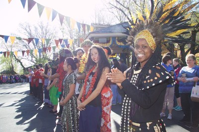 Performers from Africa and Tahiti are among those featured at Silver Dollar City's World-Fest in Branson, Missouri. World-Fest's Grand Finale season runs through May 1.