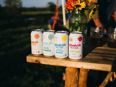 Spindrift Seltzer, Made with Real Fruit