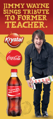 The Krystal Company honors Ms. Crystal Friday due to their inspirational partnership with Jimmy Wayne