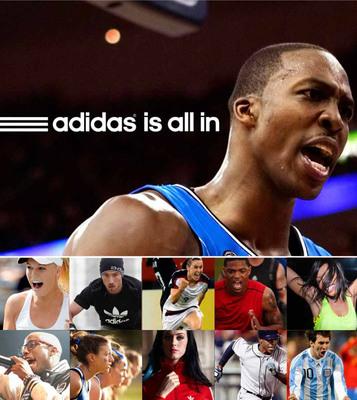 "adidas unveils ""all adidas"" brand campaign, its largest ever marketing effort.  (PRNewsFoto/adidas)"