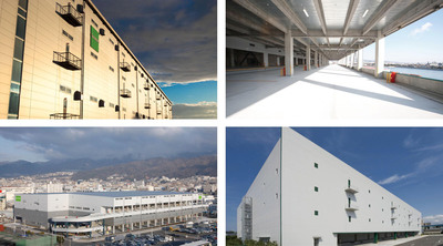 GJCF portfolio properties in Osaka and Fukuoka.  (PRNewsFoto/Goodman Group)