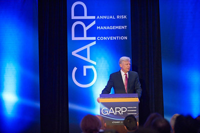 Richard Apostolik, GARP President and CEO addresses the GARP Annual Risk Management Convention