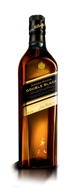 Johnnie Walker Double Black Officially Joins the Johnnie Walker U.S. Lineup as a Permanent Offering.  (PRNewsFoto/Diageo)