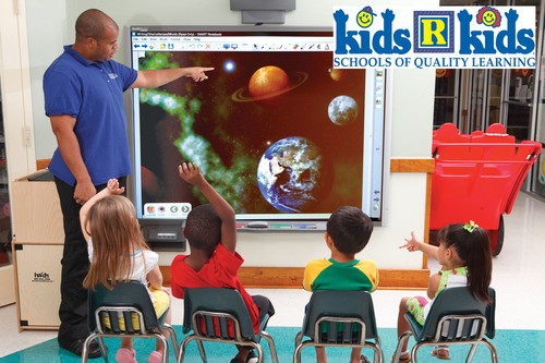 Image on Hatch TeachSmart(TM) board simulated for clarity: Kids 'R' Kids Schools of Quality Learning ...