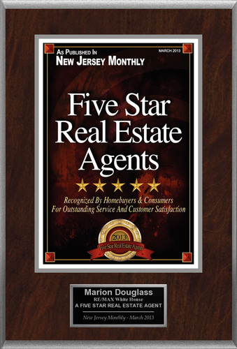 Marion Douglass Selected For 'Five Star Real Estate Agents'