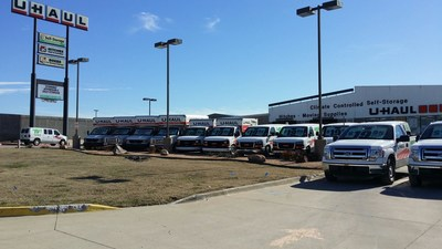 U-Haul recently acquired a vacant lot adjacent to U-Haul Moving & Storage of West McKinney at 10061 W. University Drive. The Company will use the land to build a new climate-controlled self-storage facility and add more RV, boat and vehicle storage spaces.