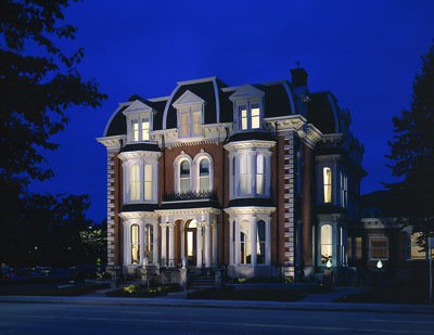 The Mansion on Delaware Avenue in Buffalo, New York inducted into Historic Hotels of America.  (PRNewsFoto/The Mansion on Delaware Avenue)