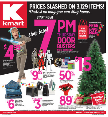 Kmart's Ridiculously Awesome Thanksgiving Weekend Doorbusters