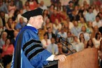 Rob Siegfried addresses the 2014 University of Delaware, Lerner College of Business and Economics graduating class (PRNewsFoto/The Siegfried Group, LLP)
