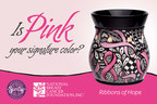 Support the National Breast Cancer Foundation when you purchase Scentsy's Ribbons of Hope Warmer. (PRNewsFoto/Scentsy)