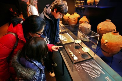 """""""Dead Sea Scrolls: The Exhibition"""" ended a successful, 6-month long run as one of the highest attended traveling exhibitions in California Science Center history."""