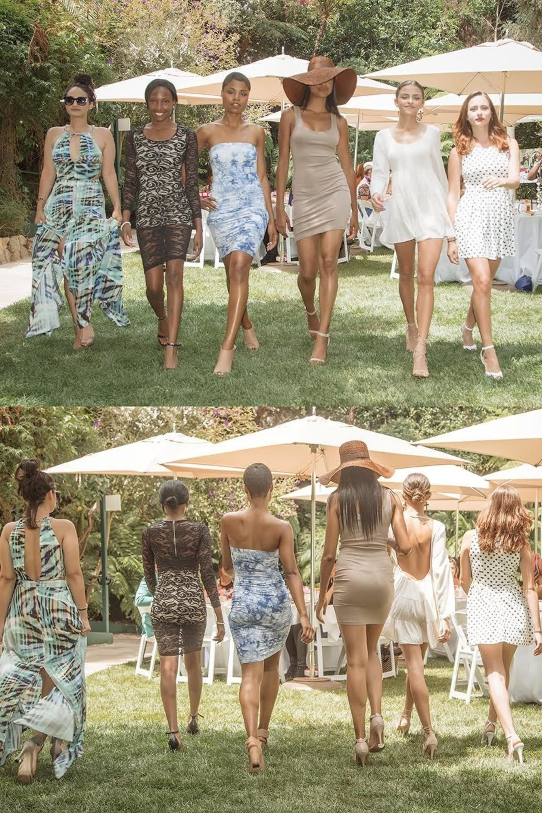Trendsetting Heel Accessory, Starlettos, attracts Young Hollywood Fashionistas and Influencers to a Garden Tea Party