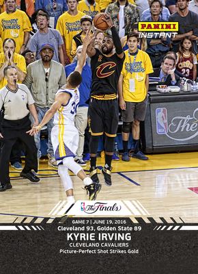 Panini America Honors Epic 2016 NBA Finals, Cleveland Cavaliers With 15-Card, Real-Time Card Set On Panini Instant