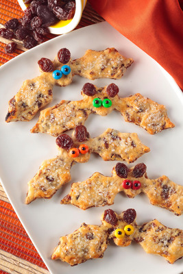 These Halloween treats can be cut into any spooktacular shape and feature all-natural, nutrient-packed California raisins.